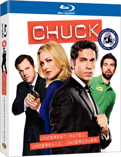 Chuck Season 4 DVD Cover