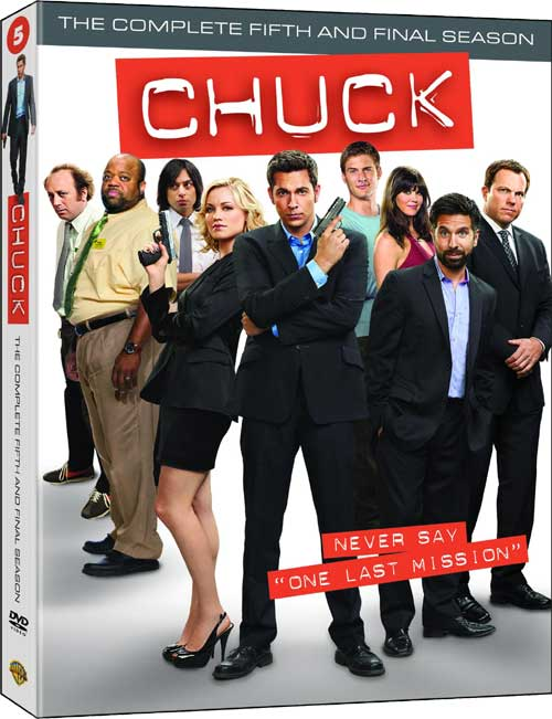 Chuck Staffel 5 DVD ab November 2012