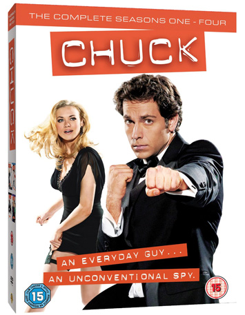 Chuck Season 1-4 DVD-Box