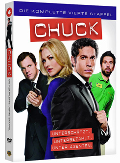Chuck Staffel 4 DVD ab April 2012