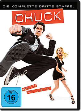 Chuck Staffel 3 DVD ab September 2011