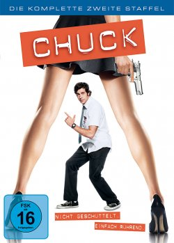 Chuck Staffel 2 DVD-Cover