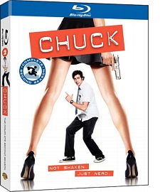 Chuck 2. Staffel Blu-Ray Cover