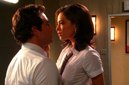 Zachary Levi und Kristin Kreuk in Chuck vs. the Mask