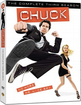 Chuck Season 3 DVD Cover