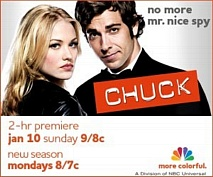 Chuck Season 3 - No More Mr. Nice Spy?