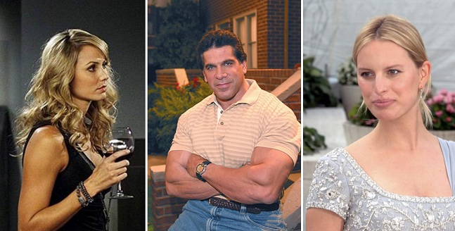Stacy Keibler in How I Met Your Mother, Lou Ferrigno in King of Queens, Karolina Kurkova